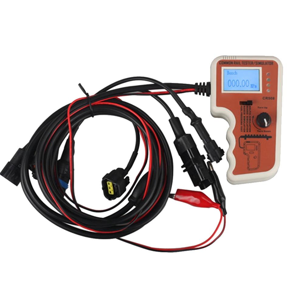 Simulation précise de testeur de pression d'accessoires d'outil de voiture de carburant de diagnostic de Rail commun pour Bosch
