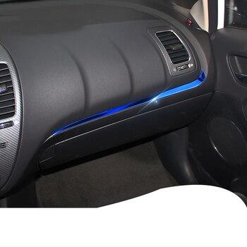 Lsrtw2017 Car Co-pilot Dashboard Trims for Kia K3 Kia Cerato 2012 2013 2014 2015 2016 2017 2018 Interior forte Accessories lsrtw2017 stainless steel car co pilot storage box switch handle trims for kia kx cross k2 rio 2017 2018 2019 2020