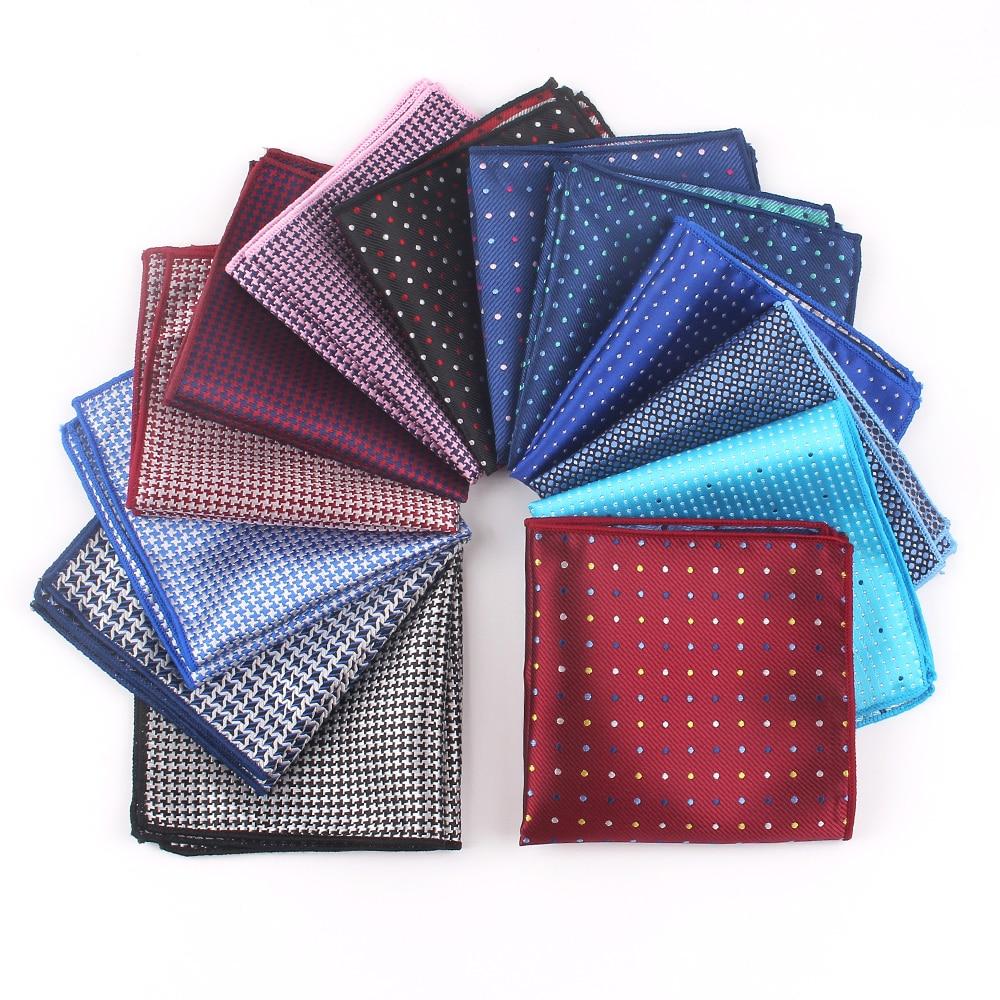 Suit Pocket Square For Men Women Dots Chest Towel Hanky Gentlemen Hankies Men's Suits Handkerchief Pocket Towel