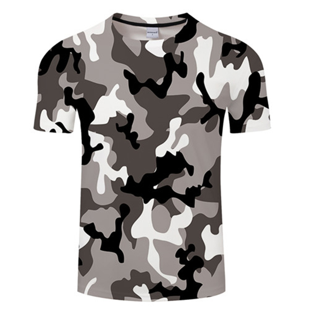 Red Gray Green Camouflage Clothing 3d Printed Tshirt Men Women Short Sleeve Tee Shirt  Brand Top T Shirt Funny Tees Asian Size
