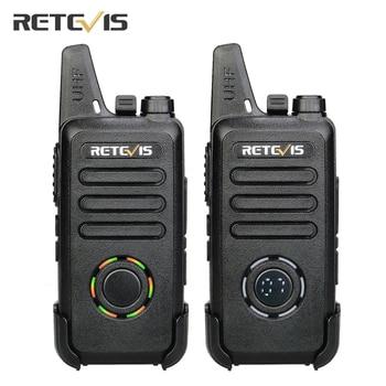 RETEVIS RT22S Handsfree Walkie Talkie 2pcs RT22 Upgrade VOX Hidden Display Two-way Radio Transceiver Walkie-talkies Travel/Camp - discount item  47% OFF Walkie Talkie