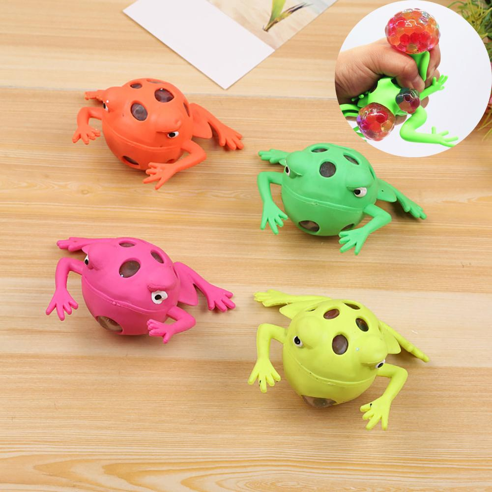 Creative Animal Frog Shape Squeeze Kids Adult Relieve Stress Decompress Toy Gift Relieve Stress And Tension