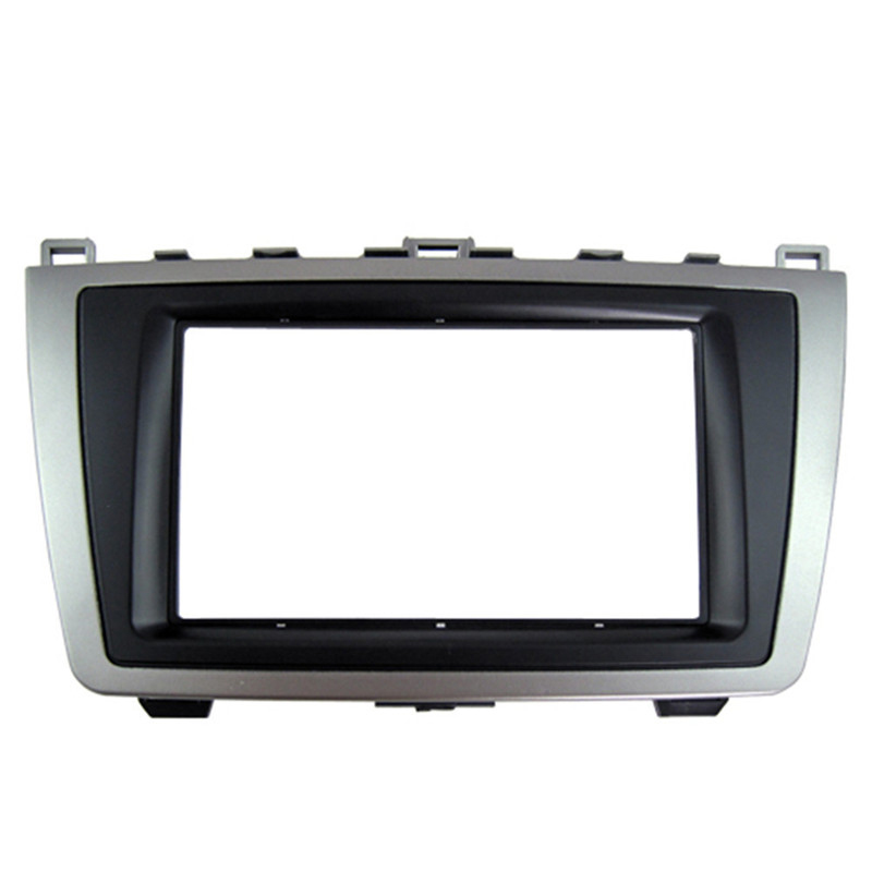 Car <font><b>Dash</b></font> Frame <font><b>Radio</b></font> Fascia for <font><b>Mazda</b></font> <font><b>6</b></font> 2009-2013 2DIN AutoStereo Panel <font><b>kit</b></font> CD Trim Installation Top Car Detector image