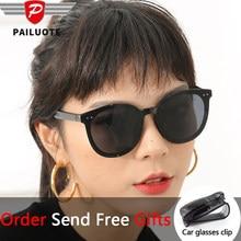 2021 Korea Fashion Sunglasses Women Designer Glasses for Men Vintage Driving Lunette De Soleil Femme Summer Oversize Luxury