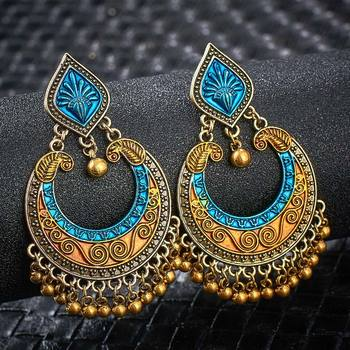 Fashion Metal Dangle Earrings Earrings Jewelry Women Jewelry Metal Color: S01119