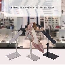 Держатель для обуви из нержавеющей стали, сандалии на высоком каблуке и обувной стенд для обувного магазина