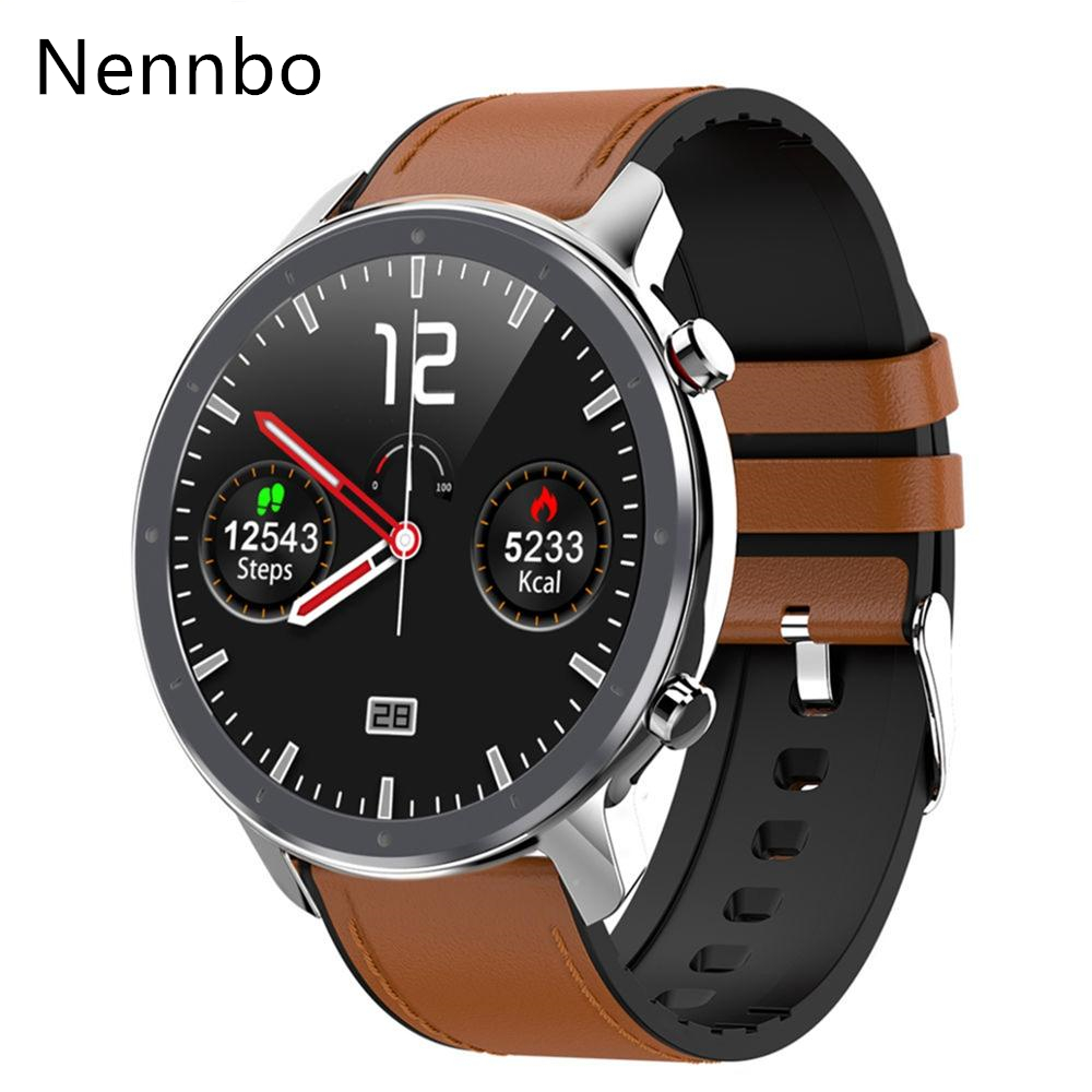 Nennbo L11 Smart Watch Men ECG+PPG Heart Rate Blood Pressure Monitor IP68 Waterproof Weather <font><b>Smartwatch</b></font> VS DT78 L5 L8 <font><b>L7</b></font> image
