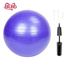 Sports Yoga Balls Bola Pilates Fitness Gym Balance Fitball Exercise Pilates Workout Massage Ball 85cm 1600g yoga ball