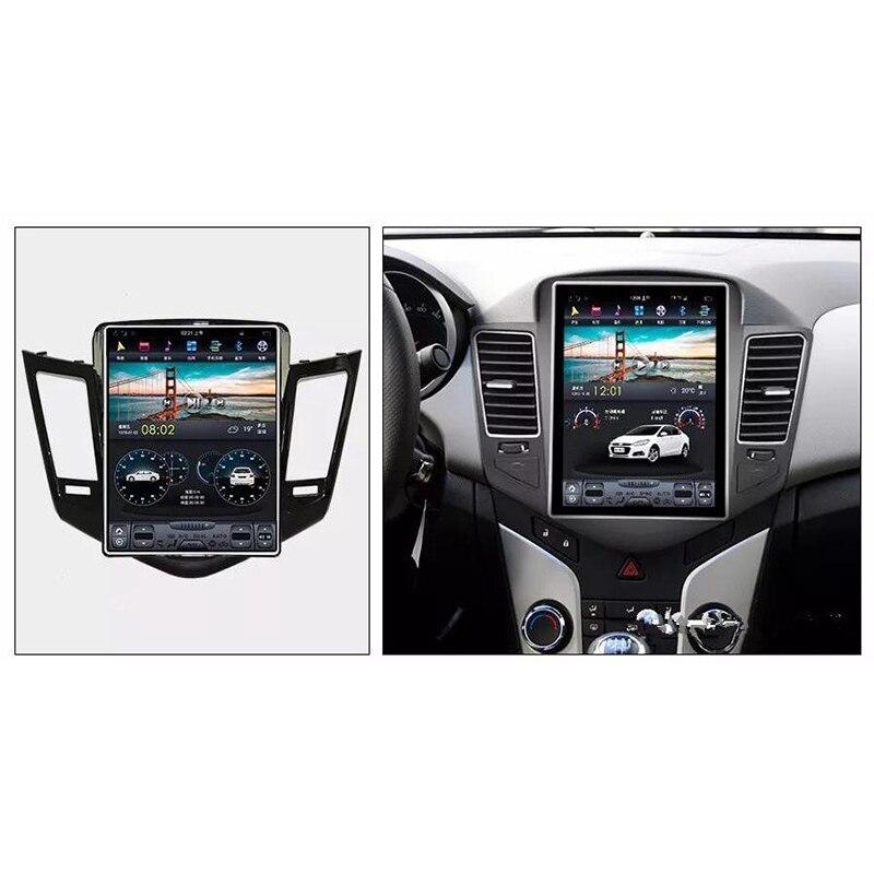 CHOGATH 10,4 Android 7,1 вертикальный экран 2 + 32G Автомобильный Радио GPS Мультимедиа Стерео для Chevrolet Cruze 2008 2012 с картами, canbus