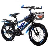 20 어린이 산악 자전거 단일 속도 산악 자전거 V 브레이크 속도 자전거