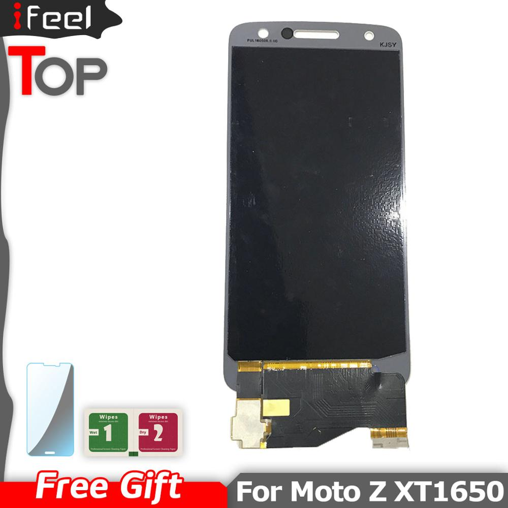 New 100% Tested <font><b>LCD</b></font> For Motorola Moto Z Droid Edition XLTE <font><b>XT1650</b></font> <font><b>LCD</b></font> Display Touch Screen Digitizer Assembly image