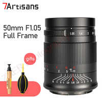 7 artesanos 50mm F1.05 completa lente de enfoque fijo MF de la Lente de la cámara para Canon RF Nikon Z SONY FE Panasonic Sigma, Leica L mount