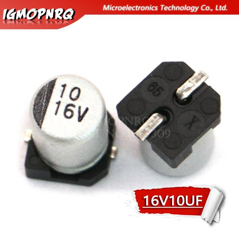 50Pcs Tantalum Capacitor SMD 16V10UF 10UF 16V AVX TAJA106K016RNJ 1206 A type