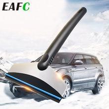 Voiture glace grattoir acier inoxydable neige Auto pare-brise glace enlever outil propre longue Style fenêtre hiver neige brosse pelle