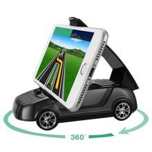 цены Car Phone Holder Self-adhesive Bracket 360° Rotation Dashboard Mount Support Telephone Interior Accessories