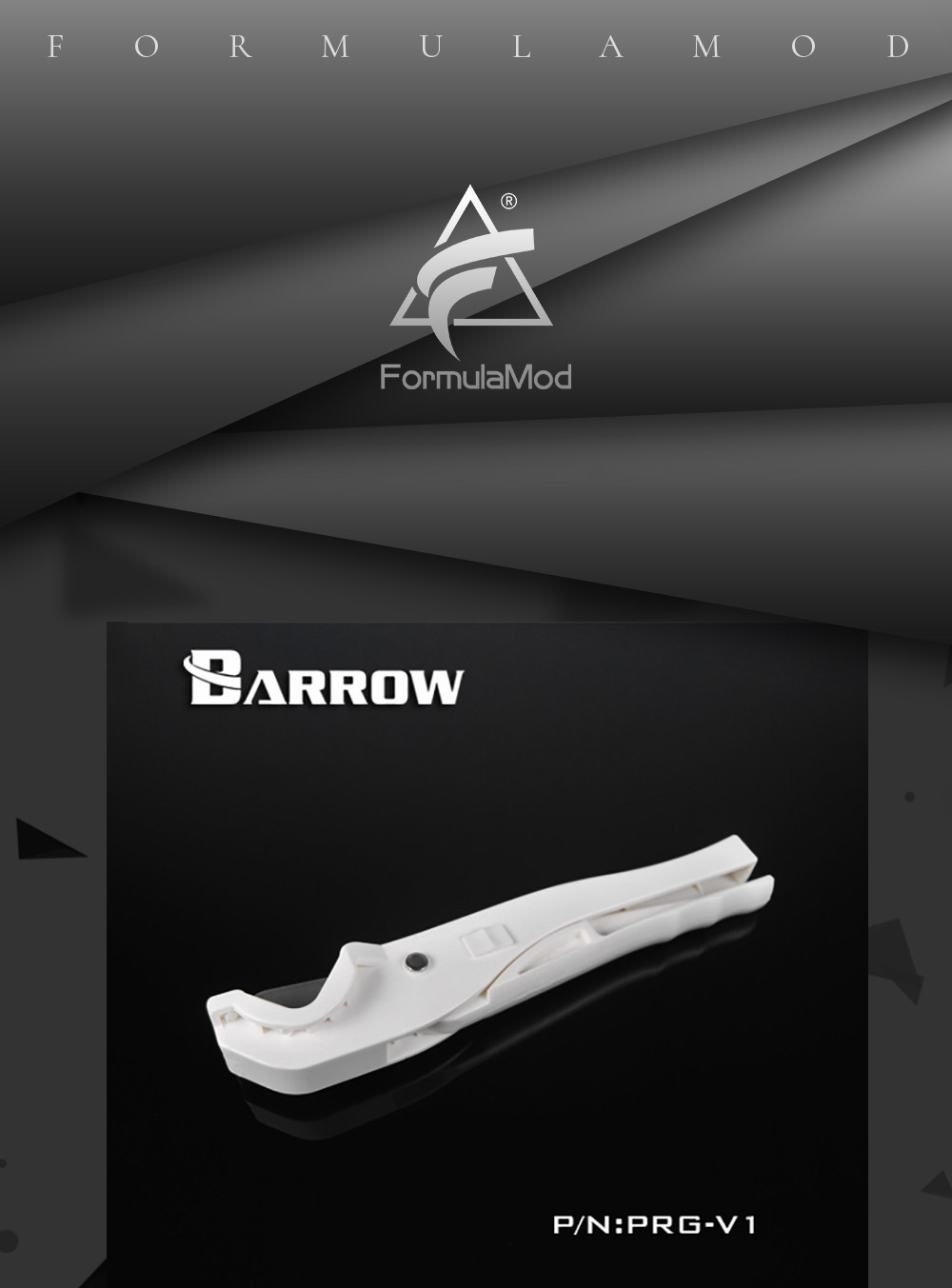 Barrow PRG-V1, PETG/Acrylic Hard Tubes and Soft Tubes Fast Cutters, Have Protection Lock, Easy To Operate