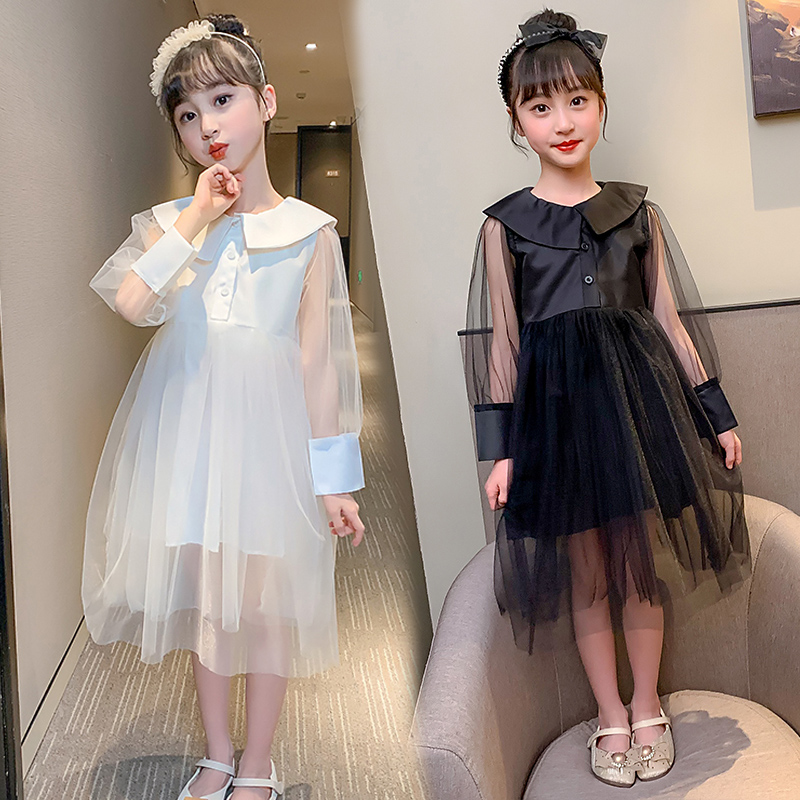 Summer Cute Baby Girls Dresses Loose Floral Voile Princess Dresses Fashion Tutu Dresses Fashion Party Kids Clothes Vestidos