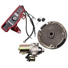 Electric Start Starter FlyWheel Switch Charging Coil Kit for Honda GX160 GX200