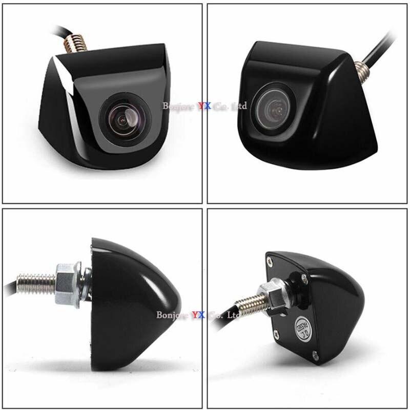 Koorinwoo Мультифункциональный переключатель HD Автомобильная камера заднего вида боковая фронтальная камера видео система RCA 12v парковочная ка...