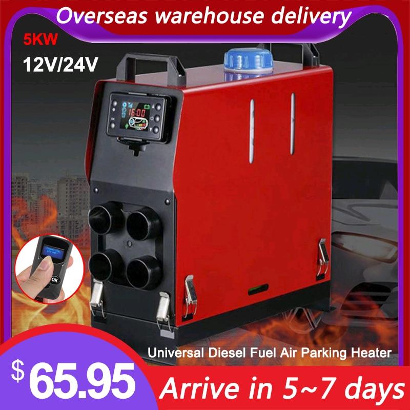 Younar 5KW Universal Car Diesel Fuel Air Parking Heater LCD Display For Knaus Hymer Eriba Adria LMC RV Trucks Boats Camper Van|Heating & Fans| - AliExpress