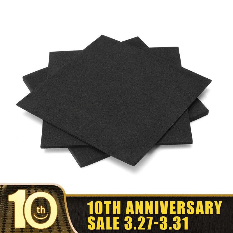 150x150mm 3mm 5mm 10mm ESD Anti Static Pin Insertion High Density Foam Soundproofing Foam Sound-Absorbing Noise Sponge Foam