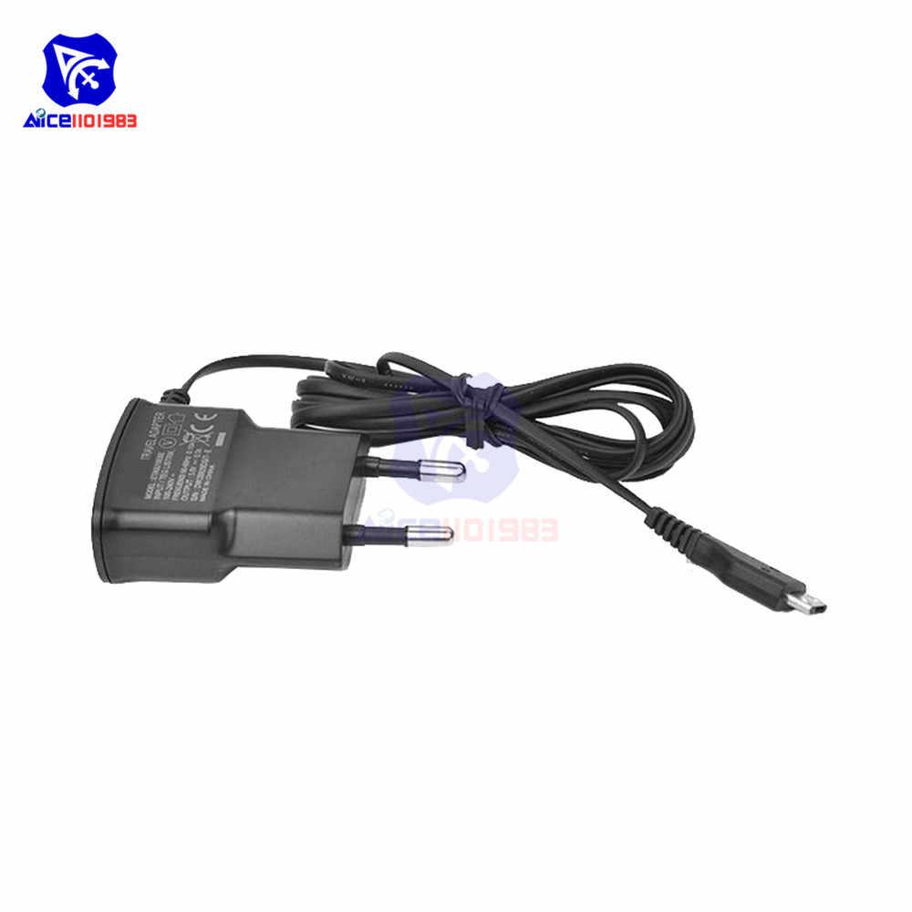 Eu Plug 5V Snel Opladen Opladen Micro Usb Charger Adapter Voor Huawei Xiaomi Lg Sony Samsung Mobiele Telefoons 70cm Kabel