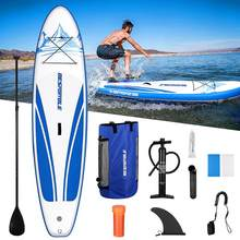 2021 NEW surfboard 304*76*15cm BESPORTBLE Paddle Board Premium Inflatable Paddle Board Stand up Paddle Board Waterproof Backpack
