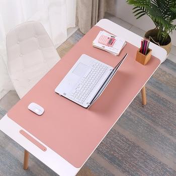 цена Laptop mouse pad leather desk pad large game mouse pad large mouse pad онлайн в 2017 году