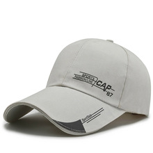 Men's canvas adjustable baseball cap all-match casual hat fashion boy snap button hat sunscreen fishing outdoor hat