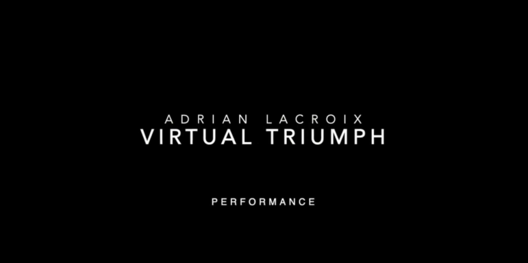 2020 triumph virtual por adrian lacroix-truque mágico
