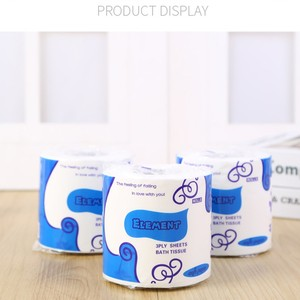 10 x Roll Hollow Replacement Roll Paper Print Interesting Toilet Paper Table Kitchen Pape Tissue paper toilet roll In stock(China)