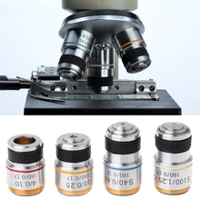 B9HB 4X 10X 40X 100X Achromatic Objective Lens for Biological Microscope 185