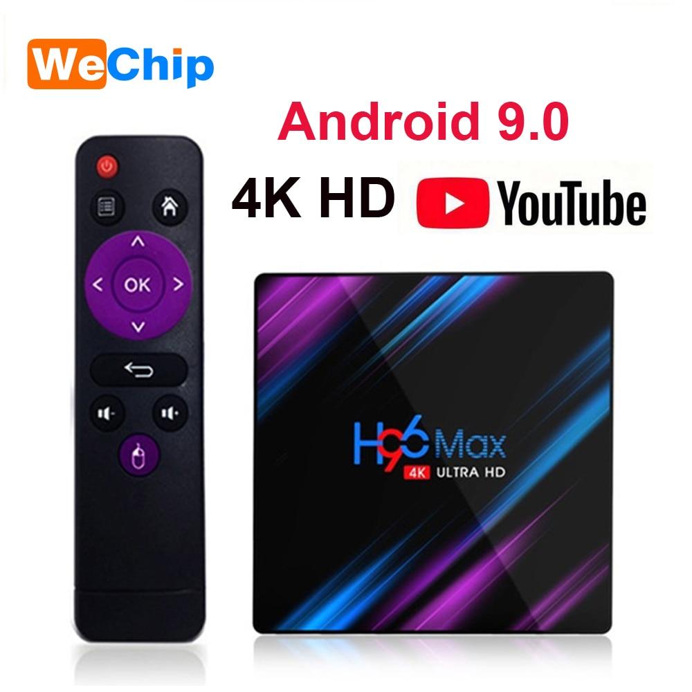H96 Max Android 9.0 TV BOX 2GB16GB RK3318 H96MAX 4GB 64GB 2.4G+5G Wifi Bluetooth Media Player Support 3D Movie 4G32G Set Top Box