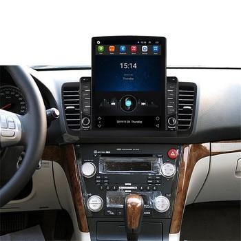 Android Vertical Tesla For Subaru Legacy Outback 2003 2004 2005 2006 2007 2008 2009 DSP Carplay Car Multimedia Player GPS Navi
