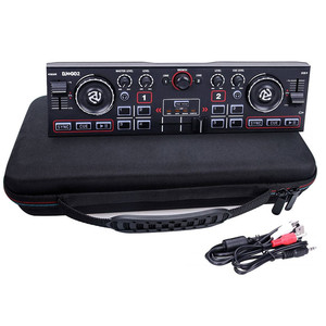 Сумка для хранения Жесткий чехол EVA дорожная Защитная сумка для Numark DJ2GO2 Карманный DJ контроллер