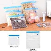 10Pcs Vacuum Food Sealer Bag Clothes Storage Bags Household Vacuum Sealing Packaging Kitchen Pumping Vacuum Food Packer Bags