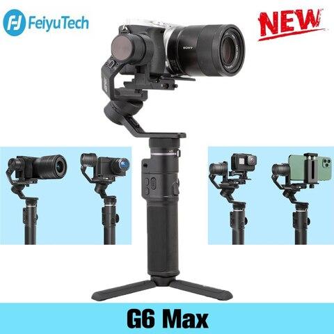 Estabilizador para Câmera de Ação a7 para Gopro Feiyu Eixos Handheld Cardan Sony Série 8 – 7 6 5 Mirrorless Smartphone g6 Max 3