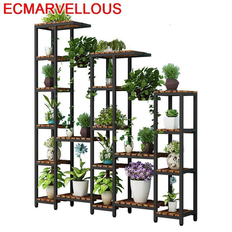 Interior Macetas Living Room Estanteria Balkon Mueble Para Plantas Balcony Stojak Na Kwiaty Shelf Outdoor Flower Plant Stand