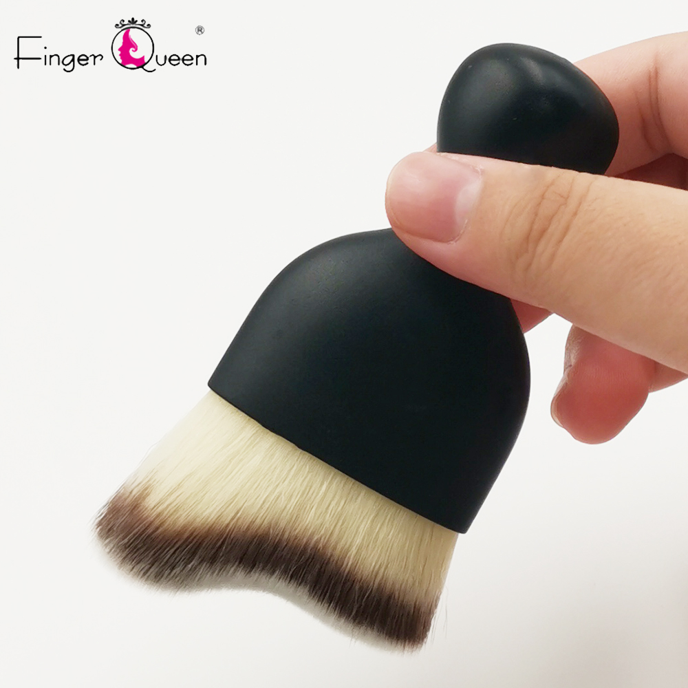 1Pc Big Cosmetic Multifunction Art Brush Nail Face Clean Brush Acrylic Builder Flat Paintin Gel Manicure Tool B022