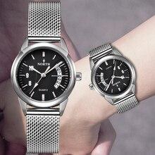 Роскошные брендовые северные женские часы, модные кварцевые часы в строгом стиле, женские водонепроницаемые спортивные часы, женские часы