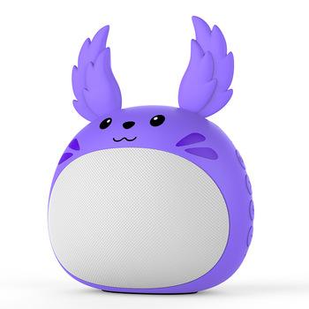 Kreatywne słodkie zwierzątko bezprzewodowa karta głośnikowa Bluetooth Subwoofer śliczne Annimal Mini głośnik głośnik Subwoofer Radio Bluetooth tanie i dobre opinie AIYISITANG Przenośne Baterii NONE Z tworzywa sztucznego Pełny Zakres 2 (2 0) CN (pochodzenie) 25 W Polimer Aktywny