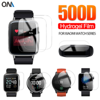 Película protectora para Xiaomi YouPin Haylou LS02 LS01 Solar LS05, Color Mi Band 6 5 4 3 2, pantalla de reloj inteligente (no cristal)