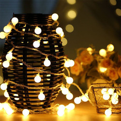 100m 800 leds Ball LED Garland Wedding Garland String Lights Christmas Party Birthday Holiday Fairy Light Home Garden Decoration