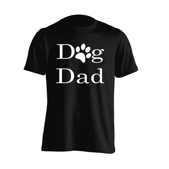 Fathers Day Gift Proud Dog Dad Pet Lovers for Adult Unisex Tees Mens T-Shirt Womens Tshirt Kids Shirt Teen Apparel-A941 image