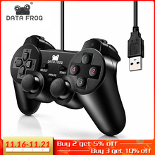 Vibration Joystick Wired USB PC Controller For PC Computer Laptop