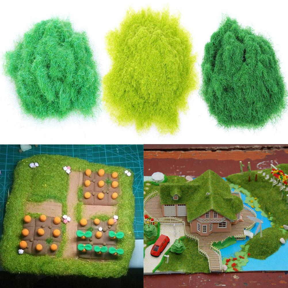 30g Bright Color Scene Garden Artificial Lawn Powders Soft Artificial Grass Powder Turf Sandbox Model DIY Landscape Decor