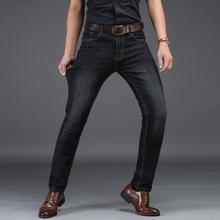 Mens Jeans Black Pants Clothes  Hip Hop Men Fashions Stretch Cool