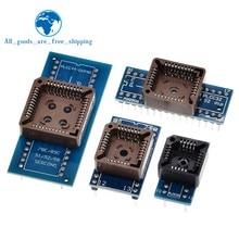 PLCC20 PLCC28 PLCC32 PLCC44 a DIP 20 28 32 44 USB universale programmatore IC adattatore Tester presa per TL866CS TL866A EZP2010