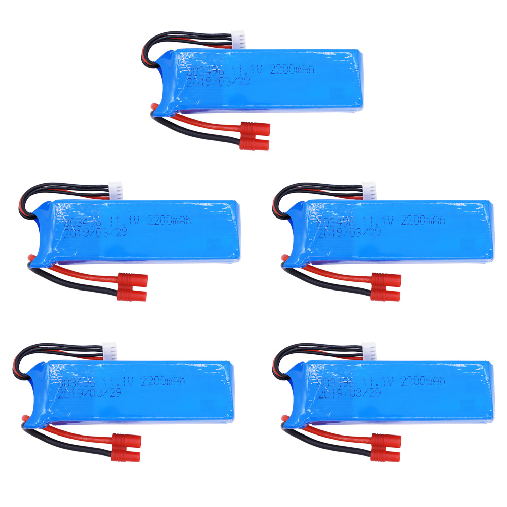<font><b>2200mah</b></font> <font><b>lipo</b></font> <font><b>Battery</b></font> For BAYANGTOYS X16 X21 X22 <font><b>11.1V</b></font> <font><b>2200mah</b></font> 3S for X16 x21 <font><b>Battery</b></font> For RC Quadcopter Spare Parts 1-5PCS image