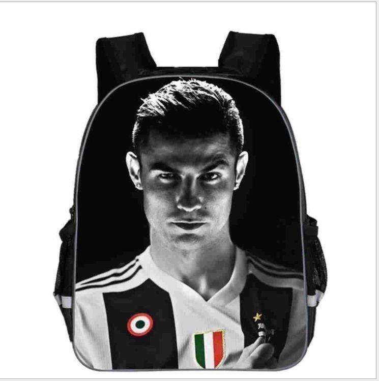 New Mochila Cristiano Ronaldo 7 School Bag For Teenage Boys Girls's Backpack Laptop Backpack CR7 Women Men Travel Shoulder Bags